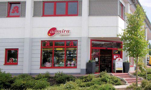 Admira-Apotheke von außen
