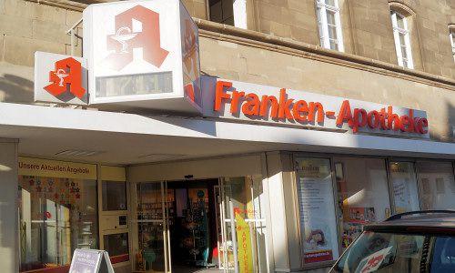 Franken-Apotheke von außen