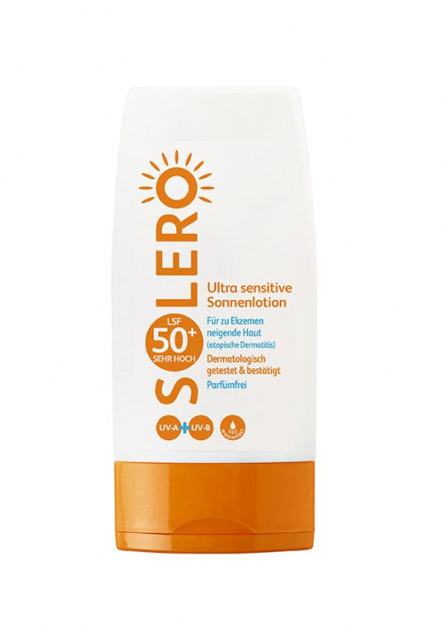 SOLERO Ultra sensitive Sonnenlotion LSF 50+