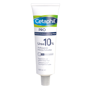 Cetaphil® PRO Urea 10 % Fußsalbe, 100 ml